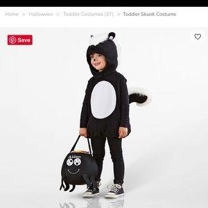 ***SOLD*** Pottery barn kids skunk costume